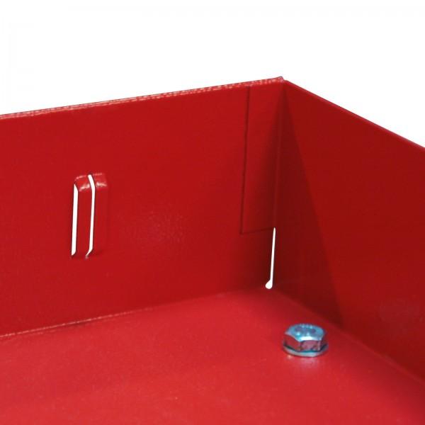 Kfz-Regal mit 2 unterteilbaren Böden