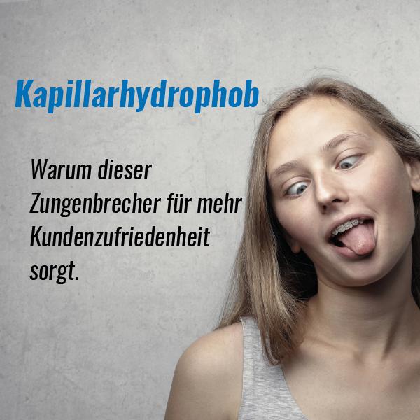 Kapillarhydrophob
