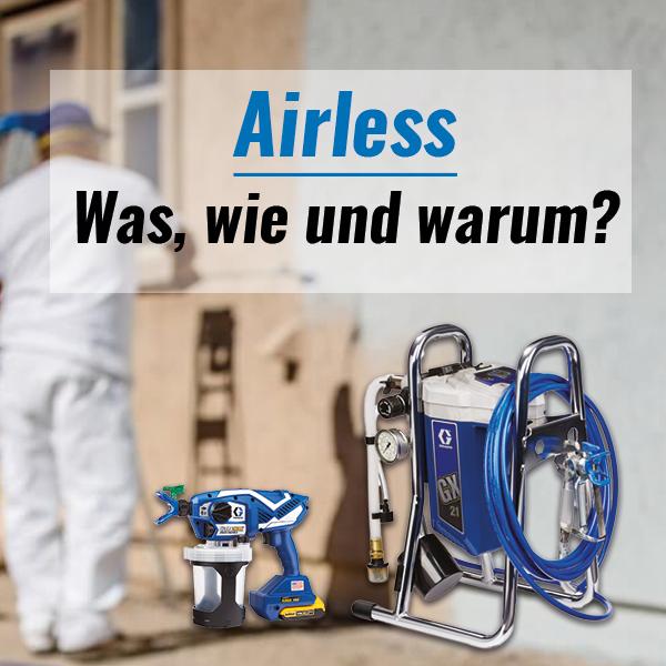 Airless - wir informieren