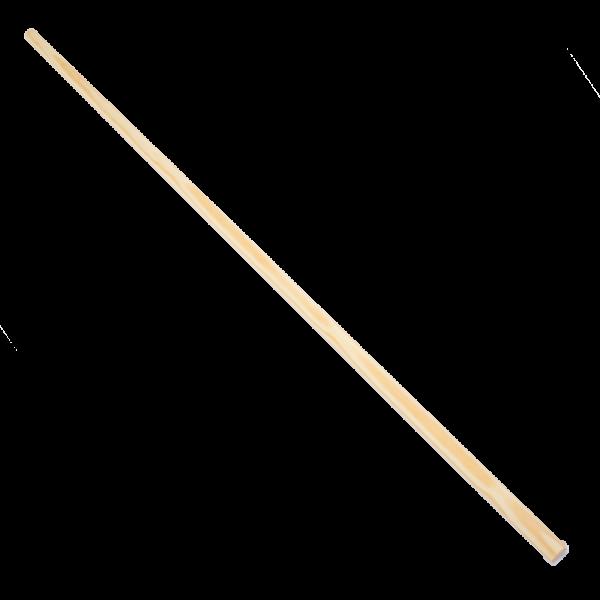 Besenstiel Länge 1400mm Durchmesser 24mm unlackiert,ohne Konus