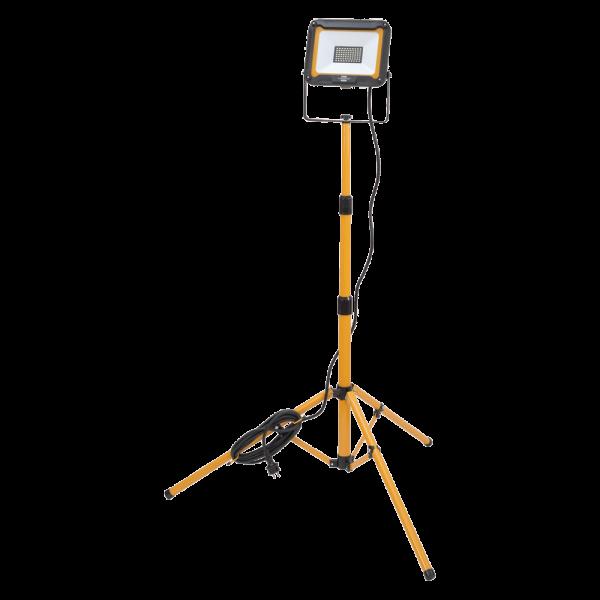 LED-Baustrahler mit Stativ 50W