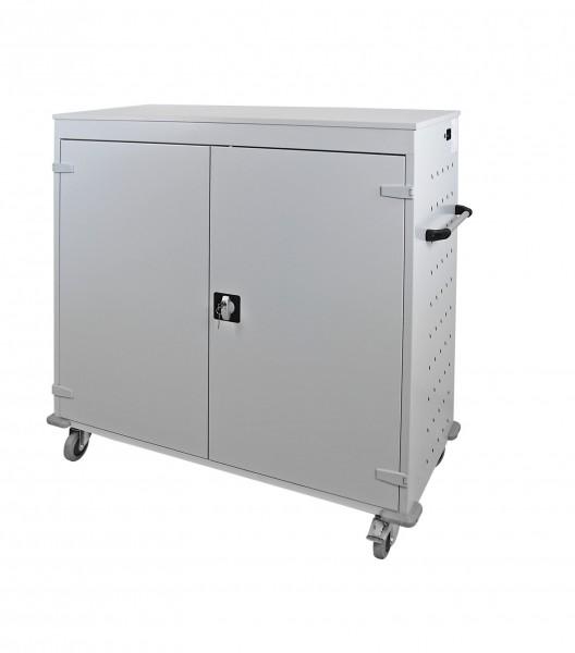 Laptopwagen / Notebookwagen / Tabletwagen / Schließfach mit 30 Fächer 1250x1310x500 mm