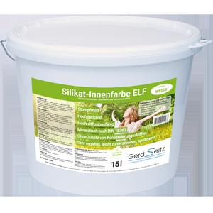 Silikat-Innenfarbe ELF weiß stumpfmatt 15 Liter