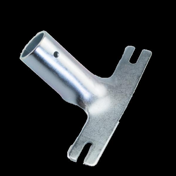 Stielhalter Metall Ø 24mm für Besen und Schrubber