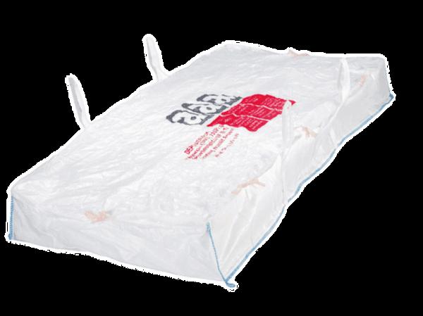 """Platten-Bag """"beschichtet"""" für Asbestentsorgung"""