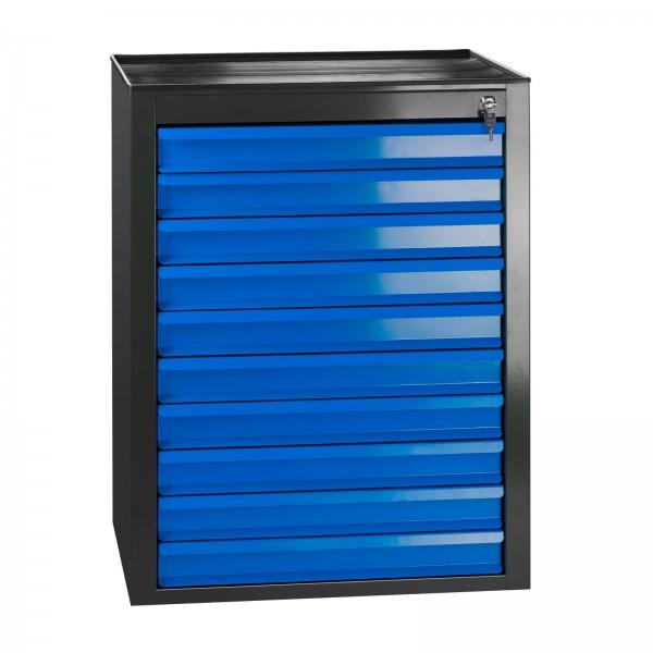 """Schubladenschrank """"MAMMUT Maxi"""" schwarz / blau"""