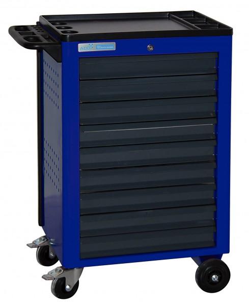 Werkstattwagen Basic, blau, 9 Schubladen