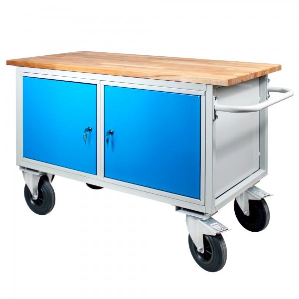 Werkbank / Tischwagen 2 Türen mit Fachboden