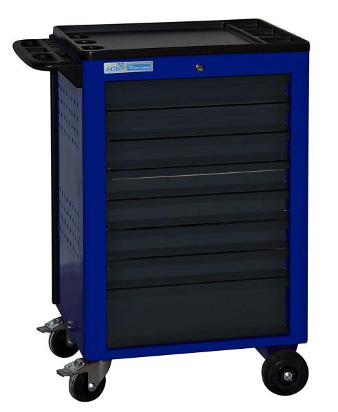 Werkstattwagen Basic, blau, 8 Schubladen