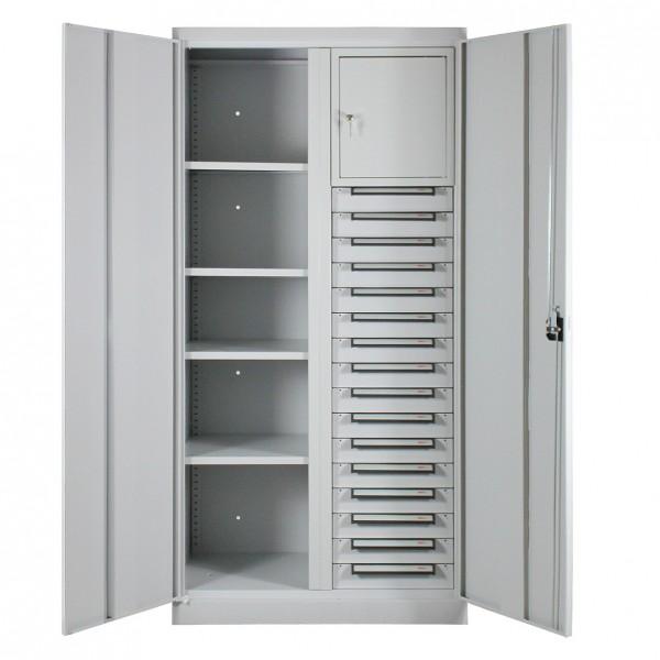 Werkzeugschrank / Systemschrank mit 16 Schubladen