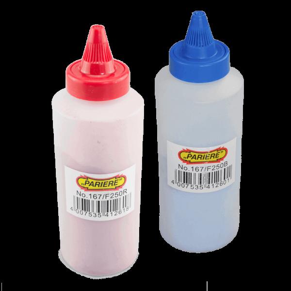 Farbpulverflasche