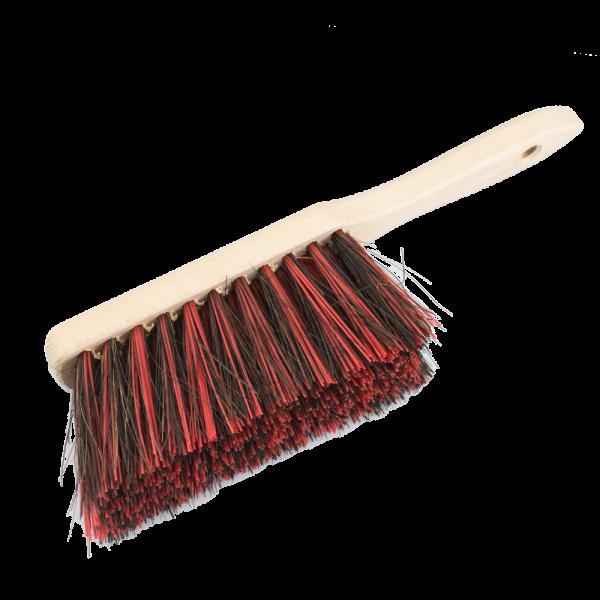 Handfeger Arenga/Elaston Länge 280mm m.Holzrücken extra voll bestückt