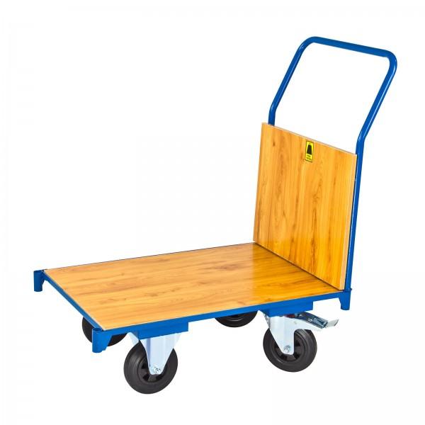 Transportwagen mit 1 Boden und 1 Holzbordwand