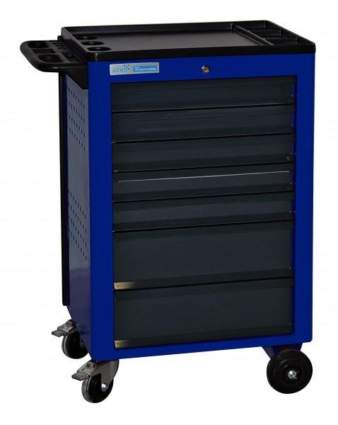 Werkstattwagen Basic, blau, 7 Schubladen