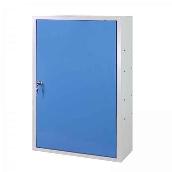 Werkzeugwandschrank mit 1 Tür, 1 Fachboden, Blau