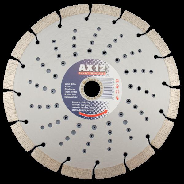 Diamanttrennscheibe AX 12 Super Premium 115-230mm