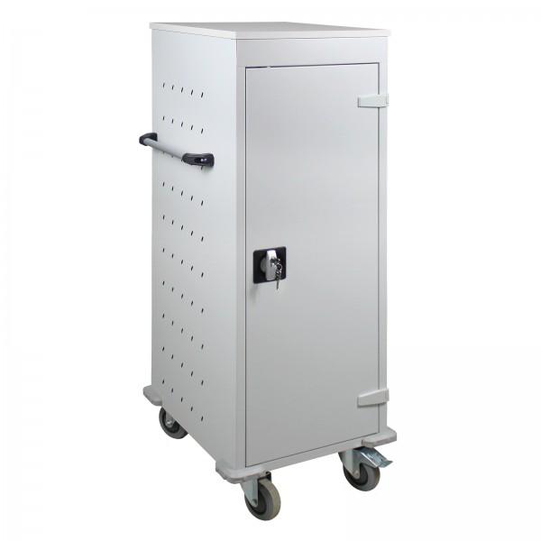 Laptopwagen / Notebookwagen / Tabletwagen Schließfach mit 10 Fächer 1250x530x500 mm