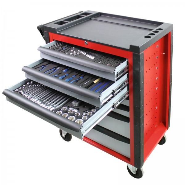Werkstattwagen RED DEVIL inkl. 190 tlg. Werkzeugset