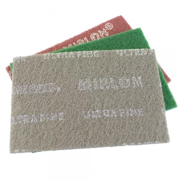 Handpads Mirlon Total-Schleifvlies 152 x 229mm