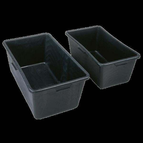 Mörtelkasten mit 65 und 90 Liter aus hochwertigem Kunststoff