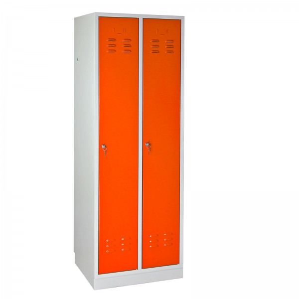 Umkleideschrank Regular Spind orange 1775x600x500 mm