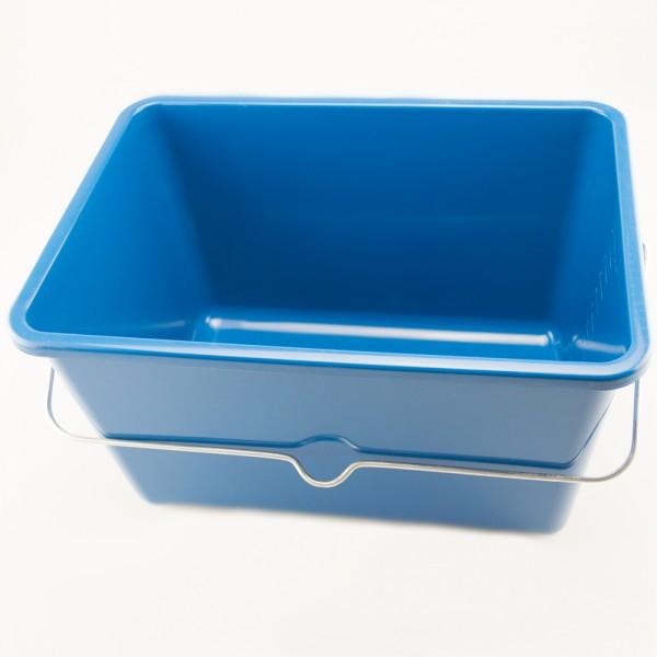 Farbeimer 12 Liter mit Meßstrichen Kunststoff blau