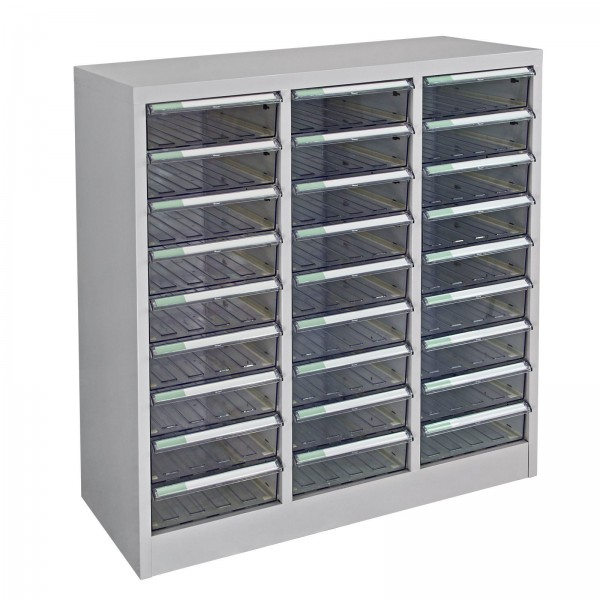 Schubladencontainer / Schubladenschrank mit 27 Schubladen