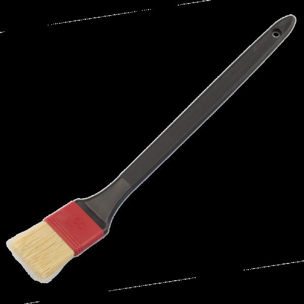 Heizkörperpinsel Breite 25-75mm / 1-3 helle Mischborste Kunststoffstiel