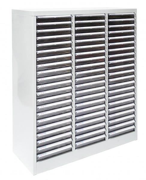 Metall Schubladenschrank / Schubladencontainer SC 3 x 21 = 63 Schubladen