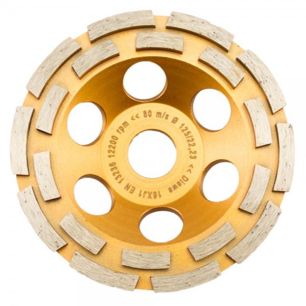 Premium Diamant-Schleiftopf Ø 125-180mm Beton