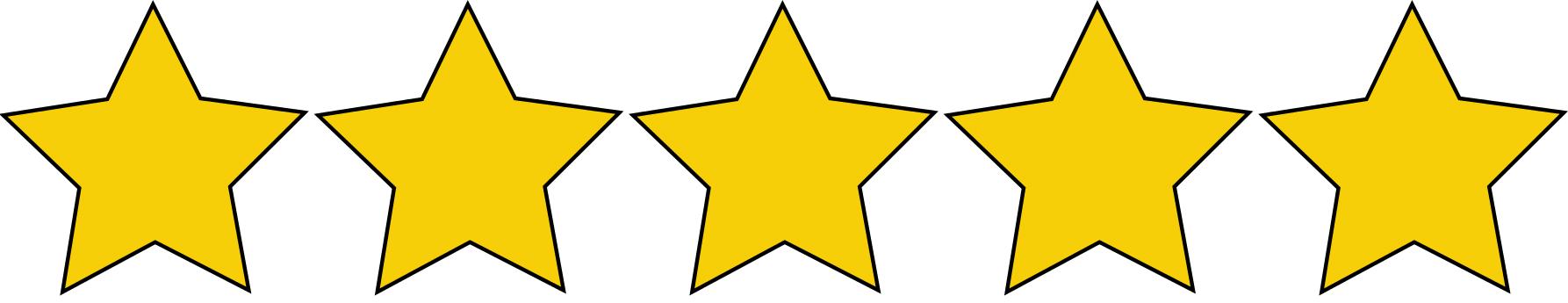 5Sterne-Bewertung