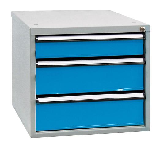 Schubladenboxen, Höhe 500 mm, 3 Schubladen