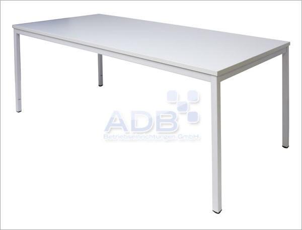 Bürotisch / Computertisch, grau 1600x800x750 mm